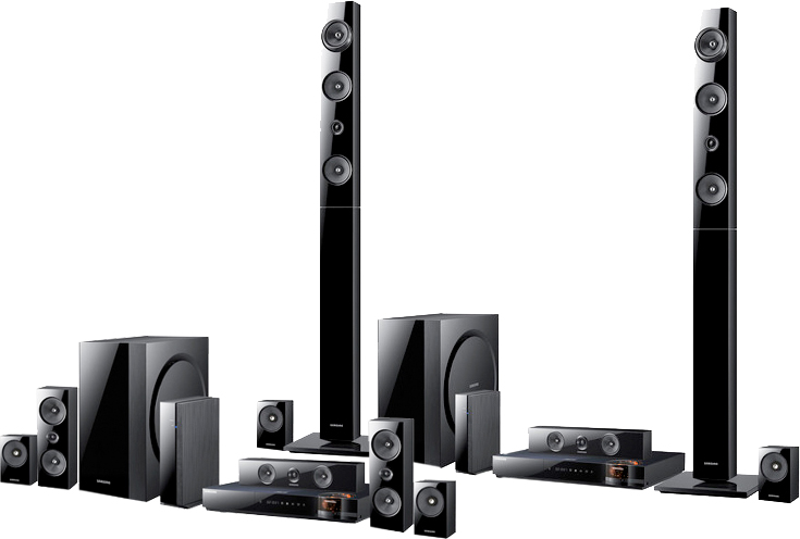 wireless home sound system. two ultimate home theater systems new from samsung wireless sound system