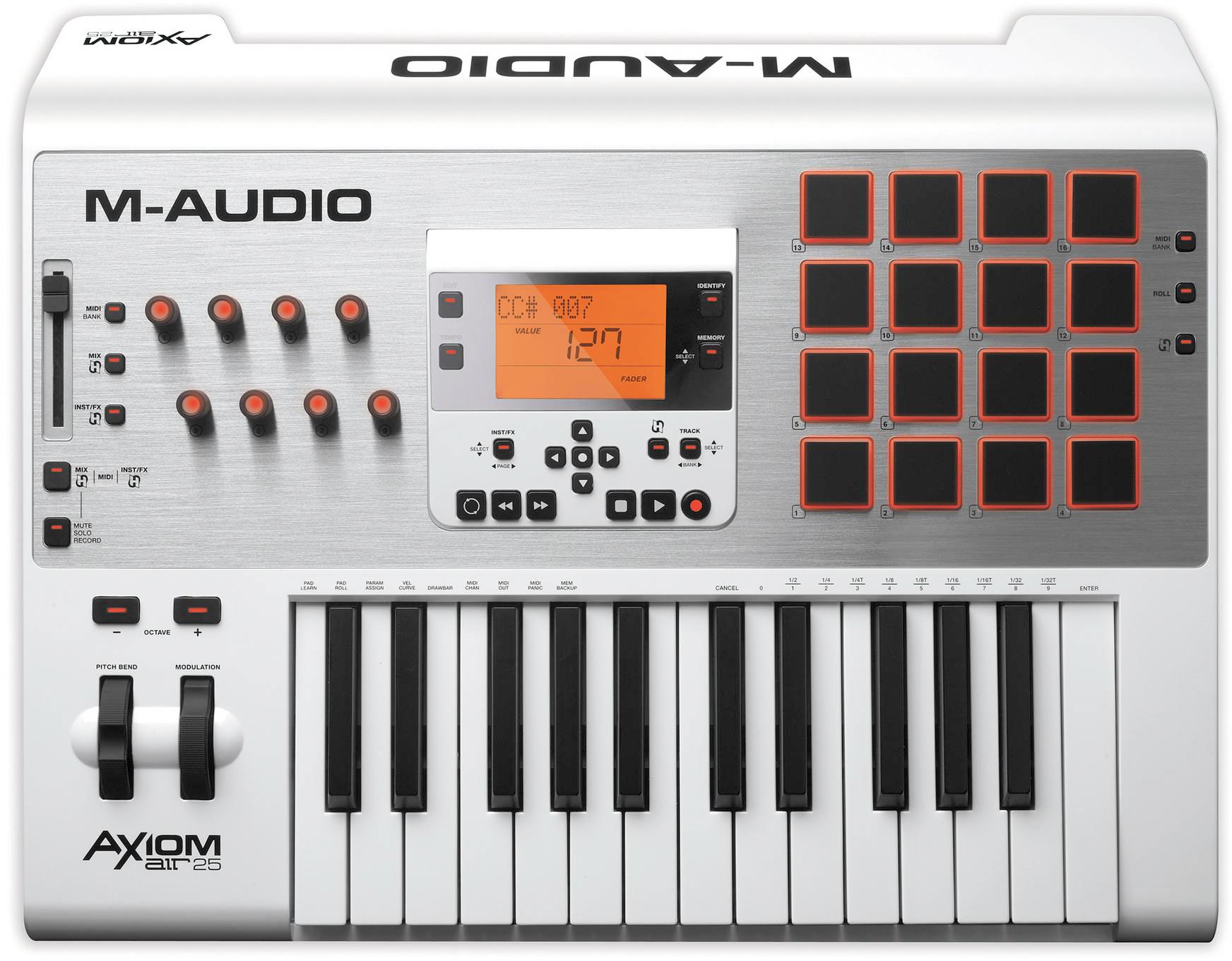 M-Audio Keyboard Controllers   B&H Explora