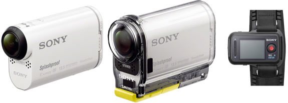Unveiled New Sony HDR AS100V and HDR AS100VR Action Cameras