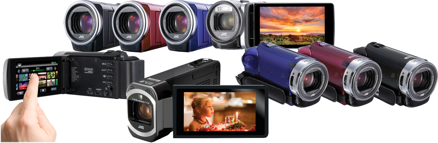 JVC's Wi-Fi-Savvy Camcorders Let You Watch Live from a