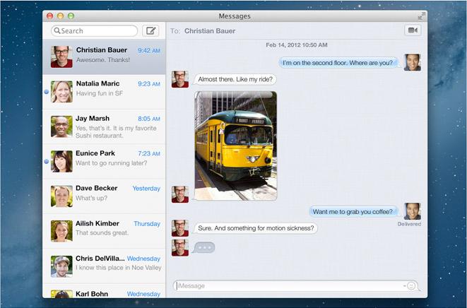 Sneak Peak of Apple's New OS X Mountain Lion Desktop Operating