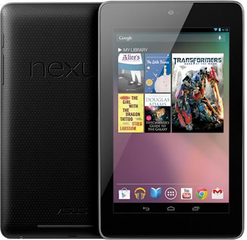 The Google Nexus 7 Tablet | B&H Explora