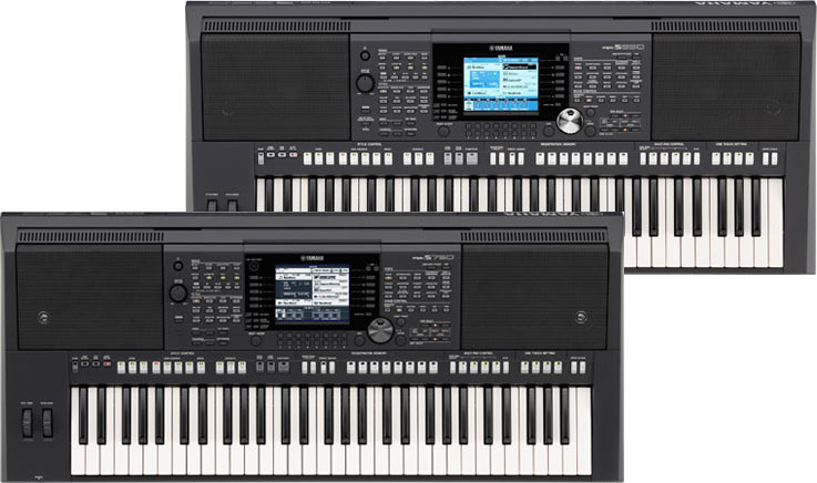 New Yamaha PSR-S750 & PSR-S950 Digital Arranger Workstations