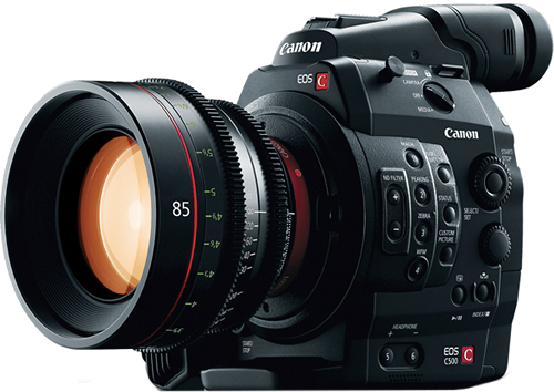 Canon Goes 4K Two Ways : EOS-1D C and EOS C500 Cameras Introduced at