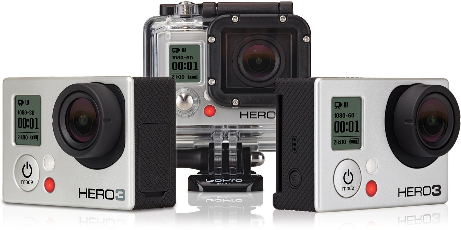 GoPro Announces the New HERO3 Action Camera & Accessories | B&H Explora