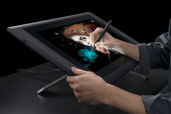 Hands-On Review: the Wacom Cintiq 22HD Touch | B&H Explora