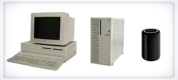 Mac pro evolution vs