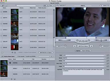 Final Cut's Log and Capture window is required to ingest AVCHD clips.