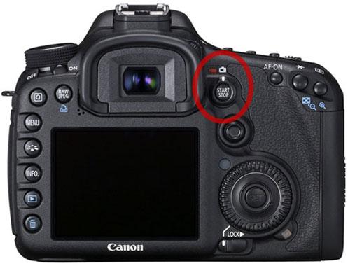 Canon EOS 7D Live View