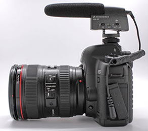 Recording Great-Sounding Audio with the Canon EOS 5D MkII