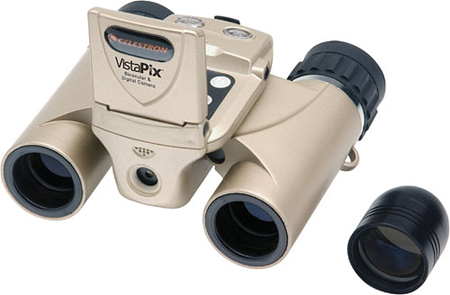 Celestron's VistaPix 8x22 Binocular with Built-In Digital Camera