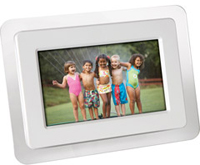 "Sunpak 7"" Digital Picture Frame"