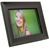 "Aluratek black-finished 10.5"" Hi-Res Digital Picture Frame"