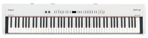 Roland FP-4 - 88-Key Digital Piano with Touch-Sensitive Keys (White)