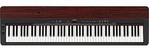 Yamaha P-155 88-Key Digital Piano (Black/Mahogany)