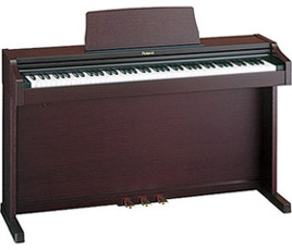 Roland RP-101 - 88-Key Upright Digital Piano with Bench and Headphones
