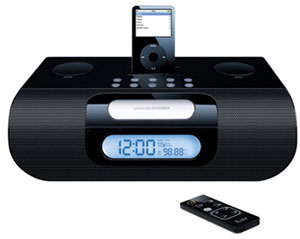 iLuv i277 Stereo Clock Radio Docking Station