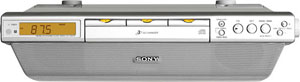 Sony ICF-CDK70 Under Cabinet Kitchen CD Clock Radio