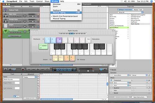 keyboard sound effects program