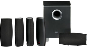 JBL Cinema Sound CS6100 5.1 Home Theater Speaker System