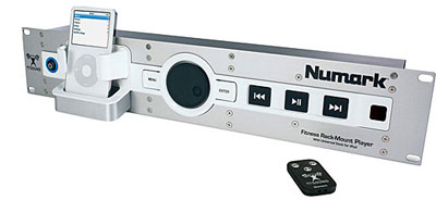Numark Fit-For-Sound rack-mountable player