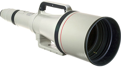 The Canon 1200/5.6L EF USM lens