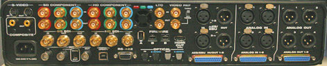 V3HD Rear Panel