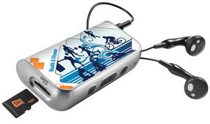 SanDisk slotRadio To Go: Health & Fitness Bundle