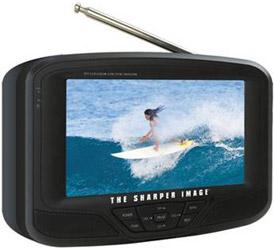 "Sharper Image 7"" Portable LCD TV"