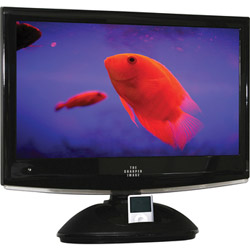"Sharper Image 22"" LCD TV with DVD Player and iPod Dock"