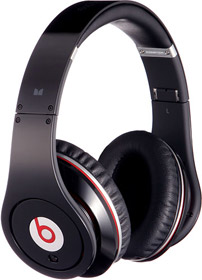 The Beats feature a sleek design with soft around-ear cushions