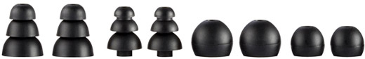 A variety of extra eartips provide a perfect fit for the best audio quality and noise isolation
