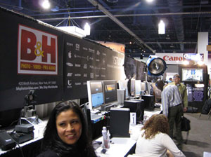 The B&H Booth NAB 2008