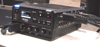 Edirol/Roland  F1 on-camera hard drive/field audio recorder