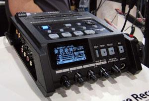 Edirol R44 four-channel field recorder