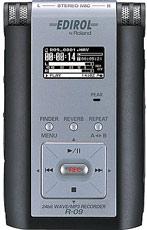 Edirol R-09 Portable 24-Bit WAV/MP3 Audio Recorder
