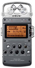 Sony PCM-D50 Professional Portable Stereo Digital Audio Recorder