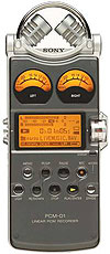 Sony PCM-D1 Portable 2-Channel Field Recorder