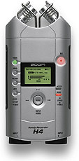 Zoom H4 Mobile 4-Track Stereo Field Recorder