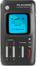 M-Audio MicroTrack II Professional 2-Channel Mobile Digital Audio Recorder