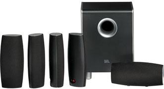 JBL Cinema Sound CS6100 5.1 Home Theater Speaker System