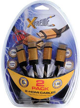 Xtreme Cables 6' HDMI CABLE (2-PACK)