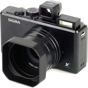 Camera with hood
