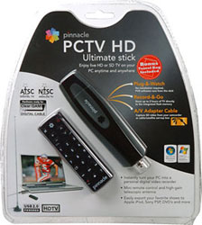 Pinnacle PCTV HD Ultimate Stick External USB HDTV Tuner