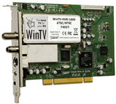 Hauppauge's WinTV-HVR-1600 Hybrid Video Recorder - PCI ATSC/NTSC HDTV Tuner for Windows.