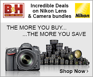 """Nikon: """"The more you buy... the more you save"""" offer on camera/lens bundles"""