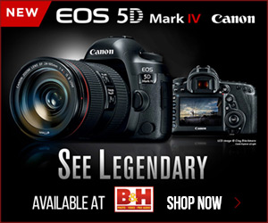Canon EOS 5d Mk IV ad