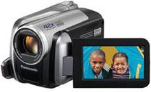 Panasonic's SDR-H40/H60 camcorder