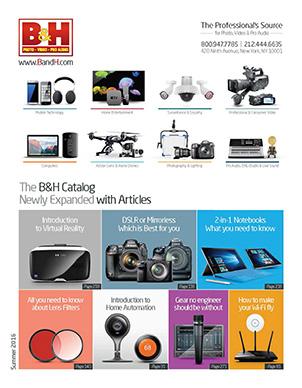 b h photo video sourcebooks catalogs. Black Bedroom Furniture Sets. Home Design Ideas