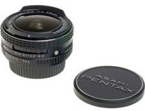 Pentax Fish-Eye 17mm f/4 Takumar Lens